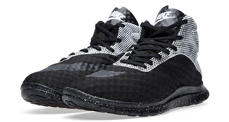 online retailer 6cc74 a3eef Nike Free Hypervenom Mid Black Pure Platinum