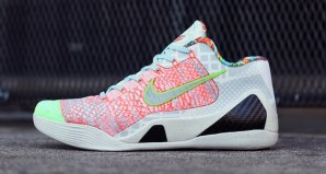 "best sneakers a0b14 b5ffa Nike Kobe 9 Elite Low ""What the Kobe"" Custom"