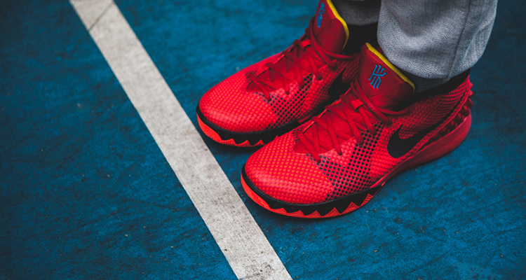 "sports shoes 1996c 8fa91 Nike Kyrie 1 ""Deceptive Red"" Another Look"