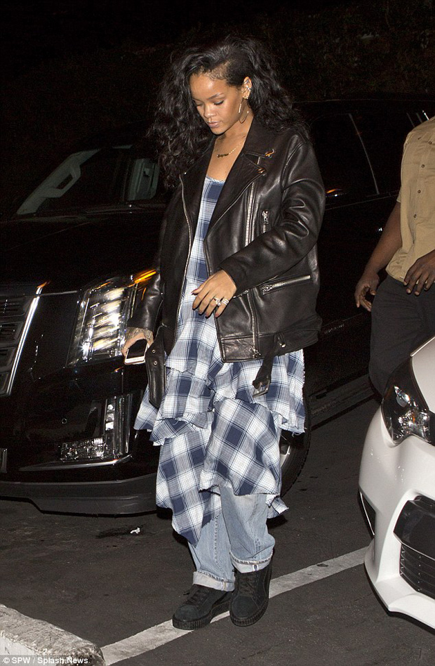Rihanna in PUMA Creepers