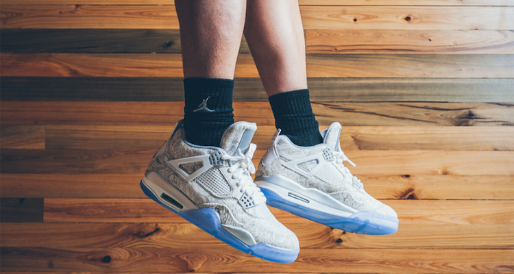 20234769ba7722 ... coupon code for check out an on foot look at the air jordan 4 laser  f49ef