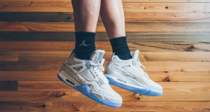 Check out an On-Foot Look at the Air Jordan 4 Laser