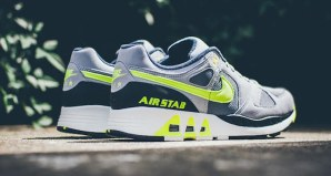 The Nike Air Stab Cool Grey/Volt Is Available Now