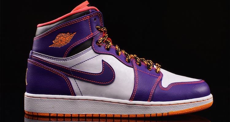 e6112946c059 Air Jordan 1 High BG Court Purple Bright Crimson Available Now ...