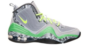 new concept f73c3 0b376 Nike Air Penny V GS Wolf Grey Volt-Light Green Spark Available Now