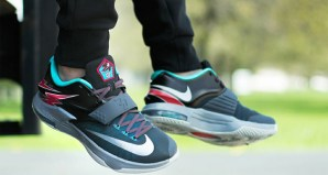 Nike KD 7 Thunderbolt On-Foot Preview