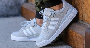 quality design d40f3 66d6f adidas Forum Lo Cool Grey Footwear White Available Now