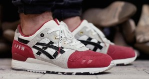 afew x ASICS Gel Lyte III Koi On-foot Preview & Release Date