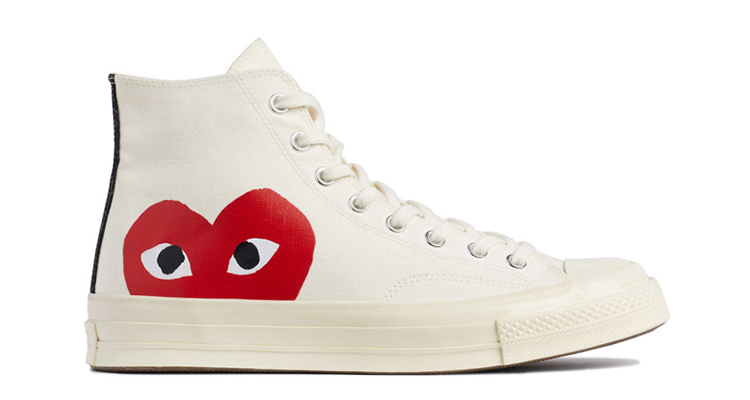 2f3dae8461f4 COMME des GARÇONS PLAY x Converse Chuck Taylor All Star  70 Collection