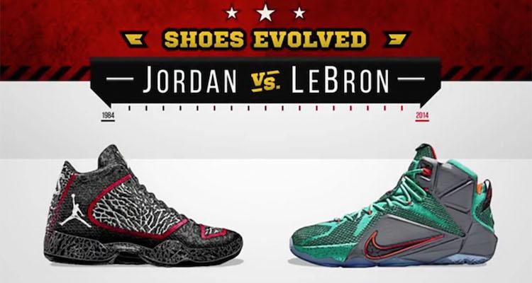 218c51c4b902e4 Jordan vs LeBron  Who Is King of Kicks
