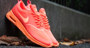 """sports shoes 3003e b805d Nike Air Max Thea """"Bright Mango"""" Available Now"""