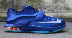 Nike KD 7 GS Gym Blue Detailed Images & Release Date