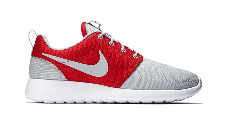 new style 67d18 2bc1f Nike Roshe One Wolf Grey/Gym Red Available Now | Nice Kicks
