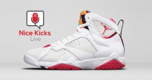 Win a FREE pair of Hare Air Jordan 7 from Nice Kicks Live Giveaway