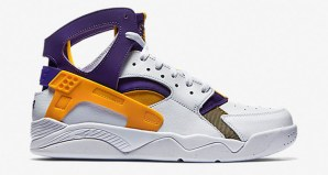 The Nike Air Flight Huarache Lakers Is Available Now