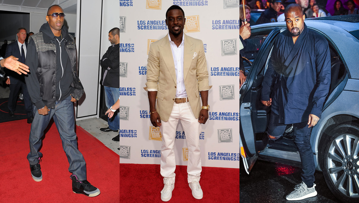 b0c346e7320409 Celebrity Sneaker Stalker Spotlight  Kanye West Designs