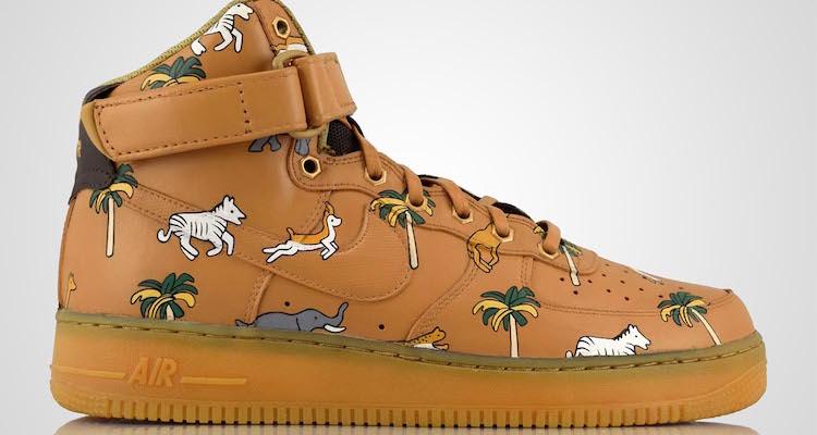 Nike Air Force 1 CUSTOM SAFARI