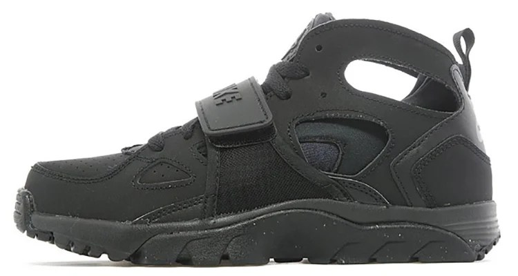 Nike Huarache D'air Triples Gs Noires