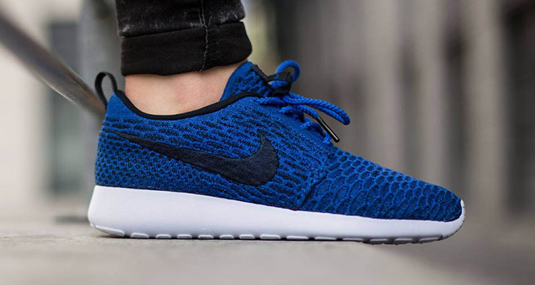 a8b22b808ae ... discount code for nike flyknit roshe run game royal available now fe230  4c335