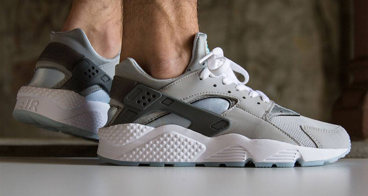 "sale retailer 8cd75 226dd The Nike Air Huarache ""Wolf Grey"" Is Available Now"