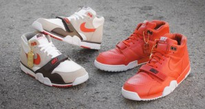 "Fragment x NikeCourt Air Trainer 1 Mid ""Roland Garros"" Pack"