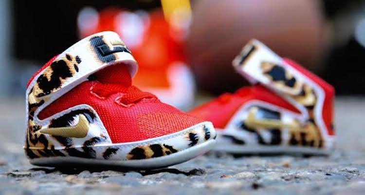 huge selection of 05b74 f4214 Infant Nike LeBron 12