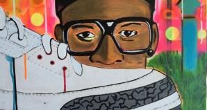 Jimmy Butler Goes Mars Blackmon on New Jordan 3 Art Piece