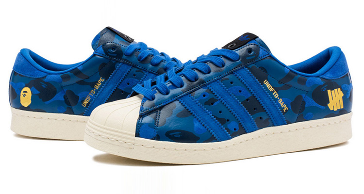 new concept 7a0ab c8dac Heres Where You Can Get the Latest Bape x UNDFTD x adidas Superstar 80s  Collab