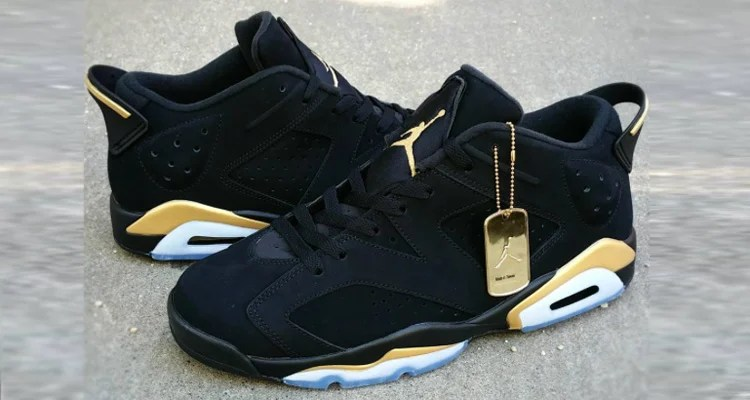 "low priced dc3c8 f1ab6 The Air Jordan 6 Low Goes Gold on ""DMP"" Inspired Custom"