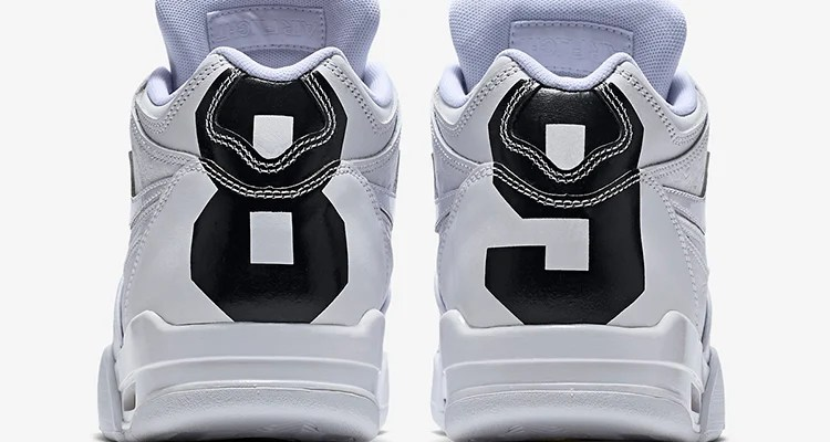 Exactly Fit Nike Air Flight 89 White Purple Green
