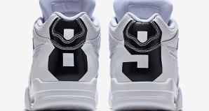 new york 1274e b9896 The Nike Air Flight  89 Gets a Bold White Black Ostrich Update