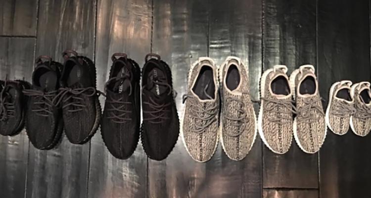 ae043259def8 Kim Kardashian Reveals adidas Yeezy Boost 350 s for North West ...