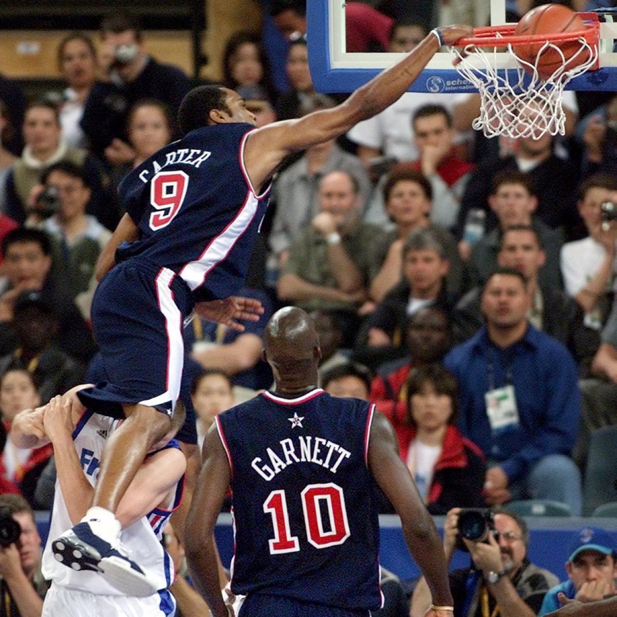 Vince Carter Nike Shox BB4 2000 Summer Olympics