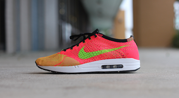 db56a0bfc895 Dank Customs Creates Nike Flyknit Racer Max 1 Custom