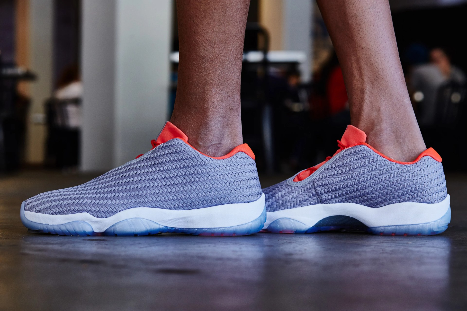 On-Foot Look    Jordan Future Low Wolf Grey Infrared  39e20f566d3c