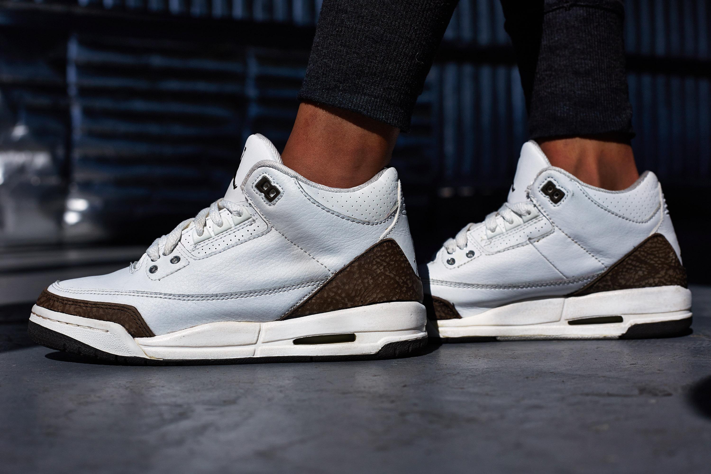promo code c7bfa a16c4 canada on foot look tbt edition air jordan 3 mocha 4b61d 0df1c