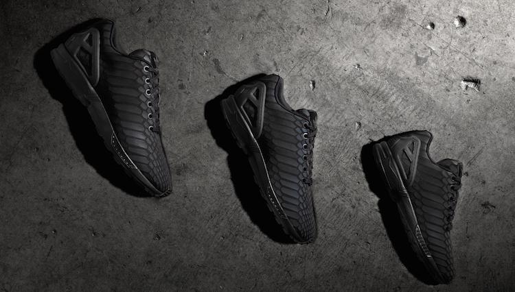 new product e60a8 de574 First Look // adidas Originals' 'All Black XENO' ZX Flux ...