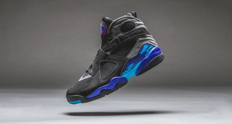 "Air Jordan 8 ""Aqua"" For Sale Online"