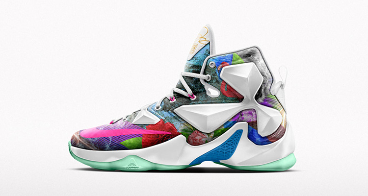 d11d48f4a58e Nike Honors LeBron James  25K Milestone with New LeBron 13 iD Option