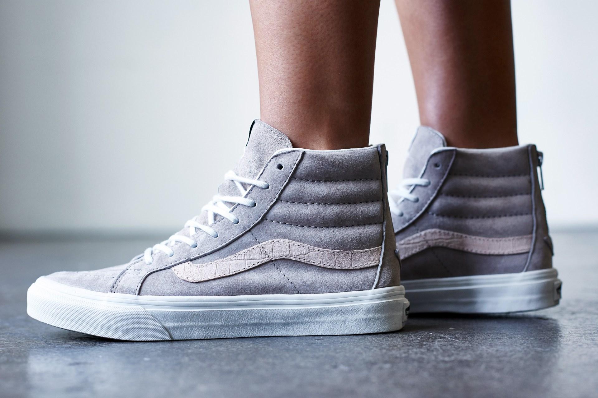 8c5fcf1125 On-Foot Look    Vans Sk8-Hi Zip