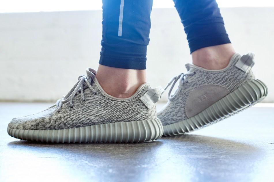 adidas Yeezy Boost 350 Moonrock On-Foot Look