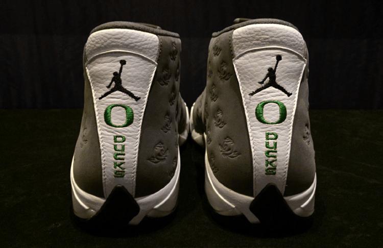 Air Jordan 14 Oregon Ducks PE by Tinker Hatfield