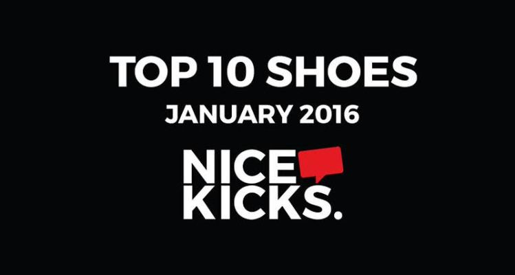 Top 10 Shoes of January 2016