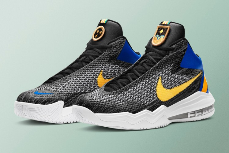 """a24910e1927c Here s Anthony Davis  """"Fear The Brow"""" Nike Air Max Audacity"""