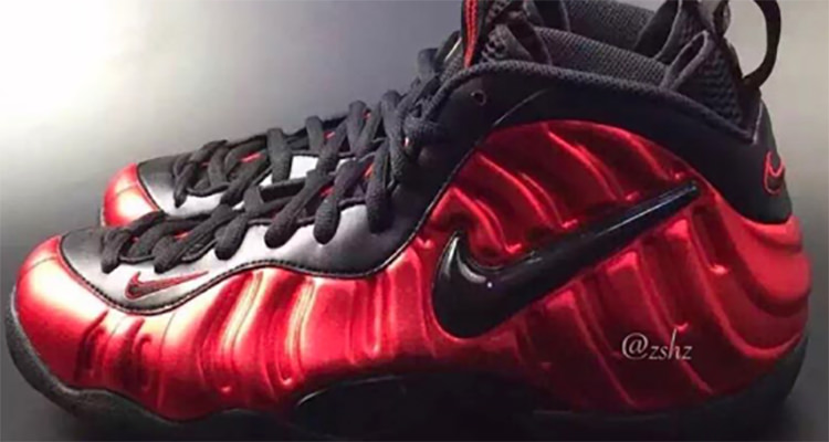 best service e70d8 bdcd4 The Nike Air Foamposite Pro Red/Black Returns This Spring ...