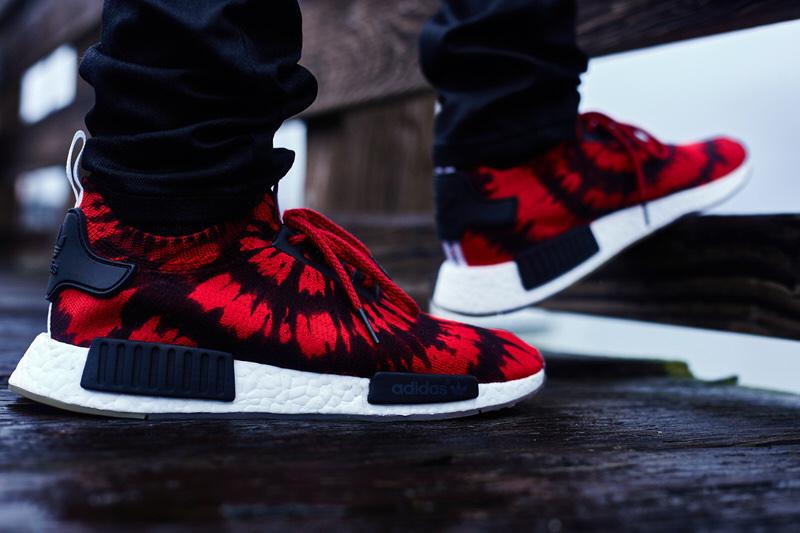 on foot look nice kicks x adidas consortium nmd runner pk nice