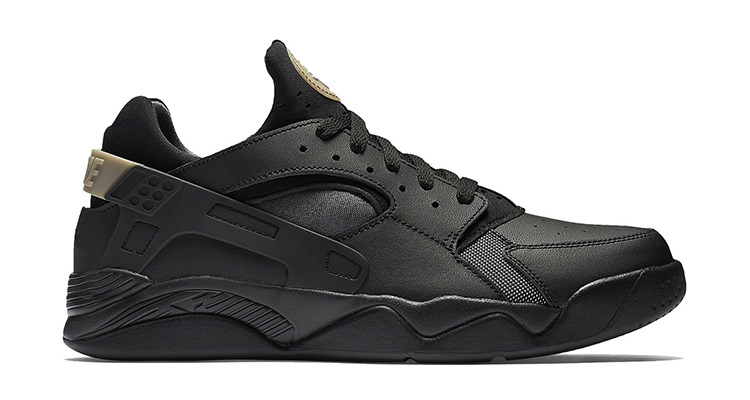 low priced 21a96 f8574 Nike Air Flight Huarache Low Black Anthracite