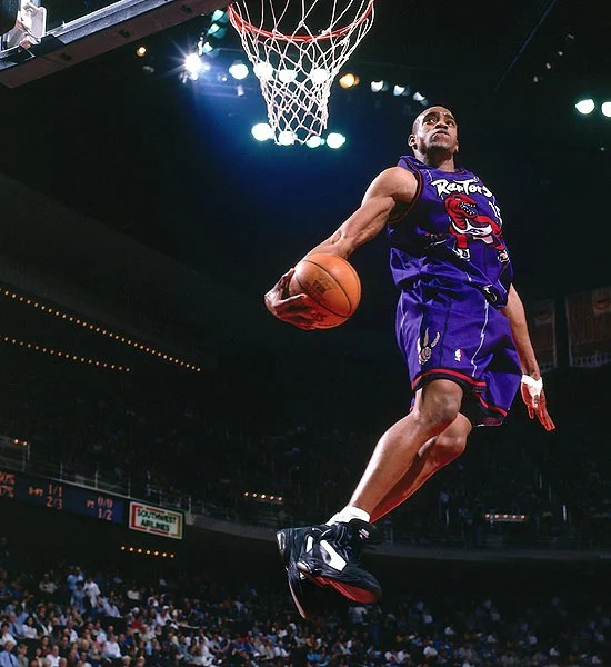 3f09917b43a7af How Vince Carter s Iconic Dunk Contest Launched The AND1 Tai Chi ...