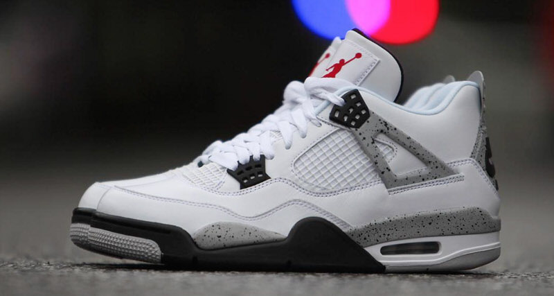 quality design 6ae6c 360d6 Air Jordan 4 White/Cement '89 Retro | Nice Kicks