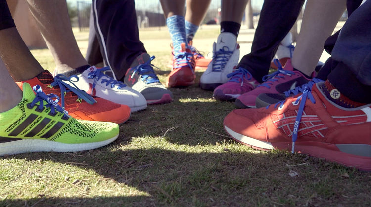 Video: Lace Up in #BlueKnots for Kiel Colon Cancer During March